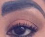 Badly shaped eyebrow
