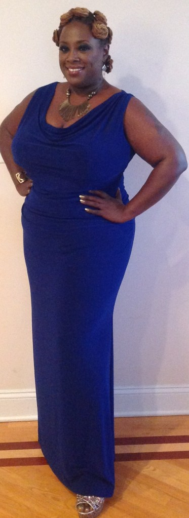 Gala 2013 Blue Dress