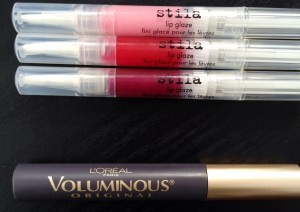 Voluminous and Stila Lip Glaze
