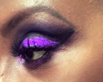 Purple Eye close up